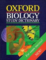 Oxford Biology Study Dictionary : Australian Dictionaries/Thesauruses/Reference - Stewart G. Jackel