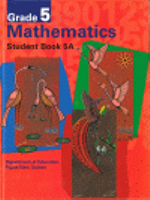 G5 Mathematics Student Book 5a Bkseller Ed : PNG Community Maths Program - Pat Lilburn