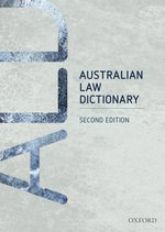 Australian Law Dictionary : 2nd Edition