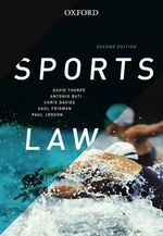 Sports Law : 2nd Edition - David Thorpe