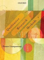 Qualitative Research Methods - Pranee Liamputtong