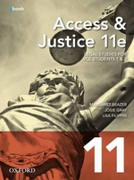 Access and Justice VCE Units 1 & 2 : 11th Edition Student Book + Obook - Margaret Beazer