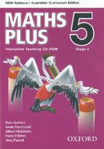 Maths Plus NSW Australian Curriculum Edition Interactive Teaching CD-Rom 5 - Harry O'Brien
