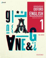 Oxford English 1 : Knowledge and Skills  : Student Textbook + Obook - Australian Curriculum - Paul Grover