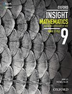 Oxford Insight Mathematics 9 5.1/5.2 Australian Curriculum Student Book + Obk/as - John Ley