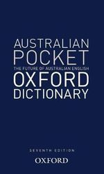 Australian Pocket Oxford Dictionary
