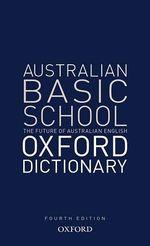 Australian Basic School Oxford Dictionary