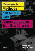 Research Methods for Media and Communications - Niranjala Weerakkody