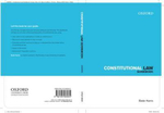 Constitutional Law Guidebook : Law Guidebook Series - Bede Harris