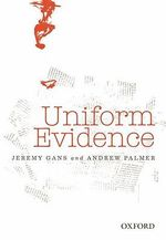 Uniform Evidence - Jeremy Gans
