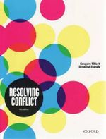Resolving Conflict - Gregory Tillett
