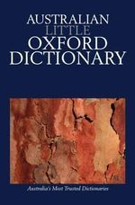 Australian Little Oxford Dictionary