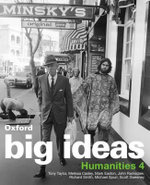 Oxford Big Ideas Humanities 4 : VELS Edition - Tony Taylor