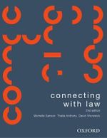 Connecting with Law : 2nd Edition - Michelle Sanson