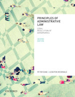 Principles of Administrative Law - Peter Cane