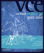 Oxford VCE English 3 and 4 2012-2014 Edition Textbook + Obook - Susan Leslie