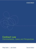 Contract Law : Commentaries, Cases and Perspectives - Philip Clarke