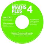 Maths Plus Queensland Australian Curriculum Interactive Teaching CD-ROM Year 4 : Maths Plus - Tanya Kirkright