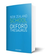 The New Zealand School Thesaurus : NZ Dictionaries/Thesauruses/Reference