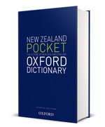 New Zealand Pocket Oxford Dictionary : NZ Dictionaries/Thesauruses/Reference
