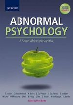 Abnormal Psychology : A SA Perspective - A. Burke