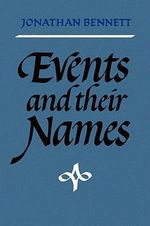 Events and Their Names - Jonathan Bennett