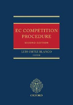 EC Competition Procedure - Konstantin J. Jorgens
