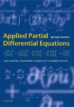Applied Partial Differential Equations : Oxford Mathematical Monographs - J.R. Ockendon