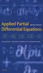 Applied Partial Differential Equations - J.R. Ockendon