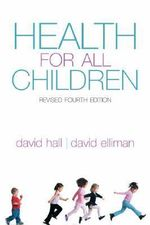 Health for All Children - David M. B. Hall