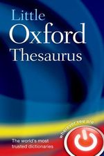 Little Oxford Thesaurus - Oxford Dictionaries