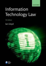 Information Technology Law - Ian Lloyd