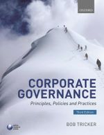 Corporate Governance : Principles, Policies, and Practices - R. I. Tricker