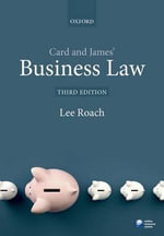 Card & James' Business Law - Lee Roach