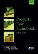 Property Law Handbook 2014-2015 - Robert Abbey