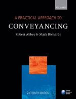 A Practical Approach to Conveyancing - Robert Abbey
