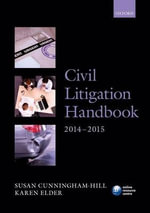 Civil Litigation Handbook 2014-15 - Susan Cunningham-Hill