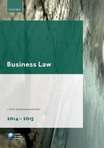 Business Law 2014-2015 - J. Scott Slorach
