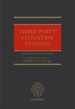 Third Party Litigation Funding - Nick Rowles-Davies