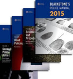 Blackstone's Police Manuals 2015 : Four Volume Set - Paul Connor