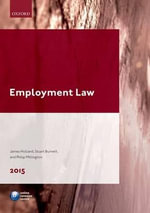 Employment Law 2015 : Legal Practice Course Guide - James A. Holland