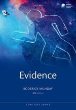 Evidence : Core Texts Series - Roderick Munday