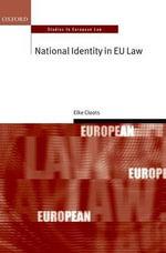 National Identity in EU Law - Elke Cloots