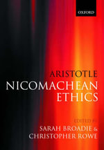 Aristotle - Nicomachean Ethics : Translation, Introduction, Commentary - Aristotle