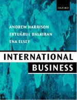 International Business : Global Competition from a European Perspective - Andrew Harrison