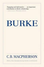 Burke : David Miller and His Critics - C.B. Macpherson