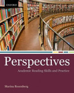 Perspectives : Academic Reading Skills and Practice - Marina Rozenberg