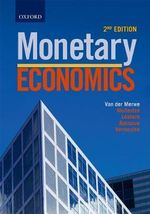 Monetary Economics - J. J. Rossouw