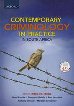 Contemporary Criminology in South Africa - Joe Herbig