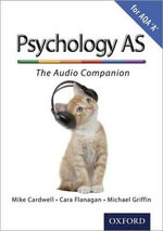 Complete Companions : AS Audio Companion for AQA A Psychology - Mike Cardwell